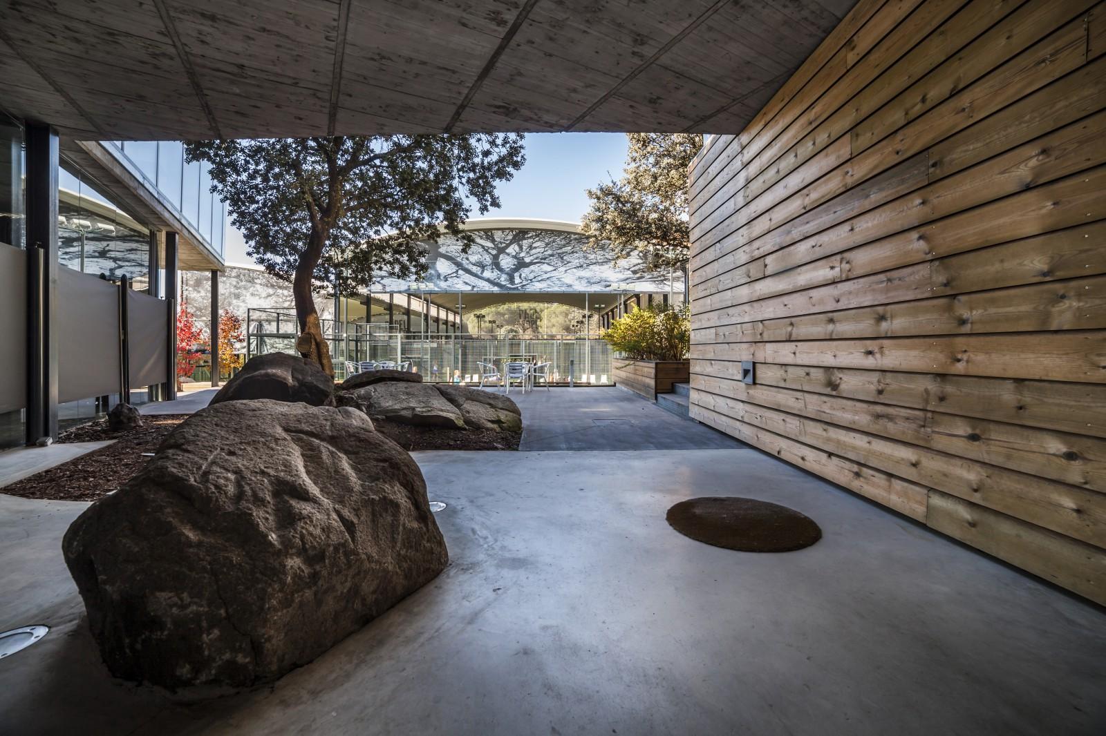 Arquitectura deportiva club de padel