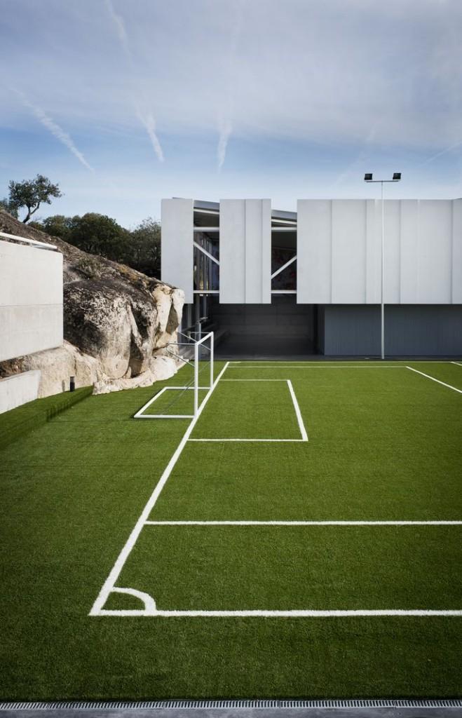 Pabell n de deportes u3 estudio de arquitectura madrid - Pabellon de deportes de madrid ...