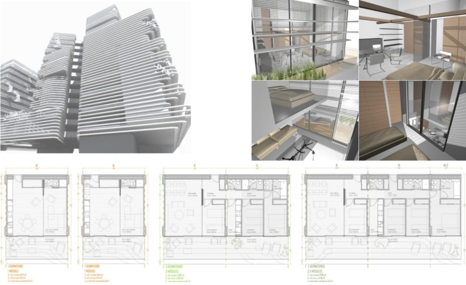 Bloque de viviendas u3 estudio de arquitectura madrid for Estudios arquitectura madrid