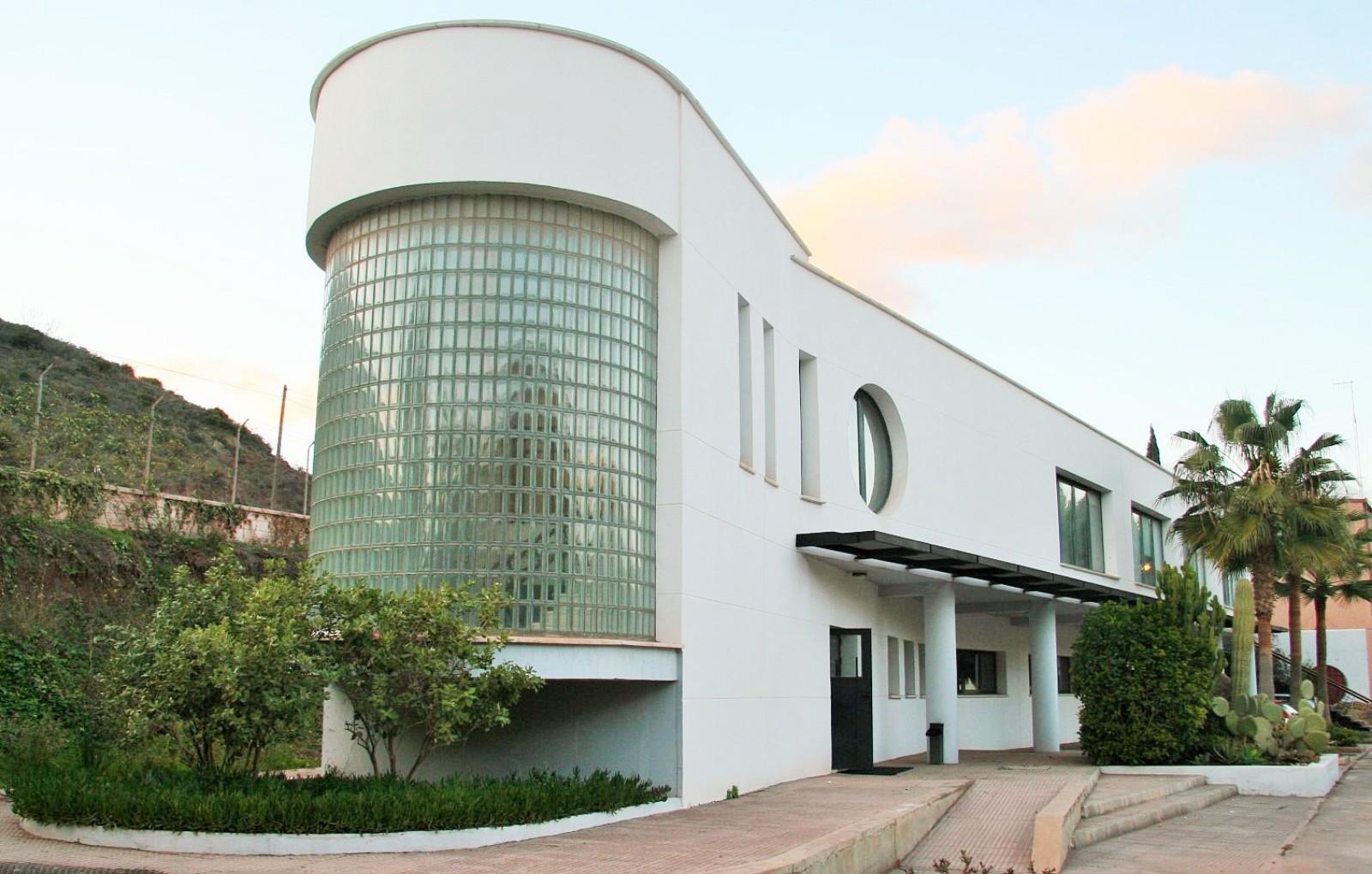 Edificio de control u3 estudio de arquitectura madrid for Estudios arquitectura madrid